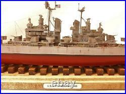 USS Vicksburg CL-86 / Pro Built / 1-350 / FREE SHIPPING