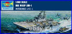 USS WASP LHD-1 1/350 ship Trumpeter model kit 05611