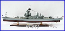 USS Wisconsin (BB-64) Handcrafted War Ship Display Model 39