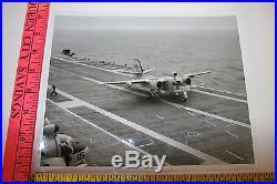 USS Yorktown CV-10 8X10 Photo USN NAVY Aircraft Carrier 1962 86000 landing