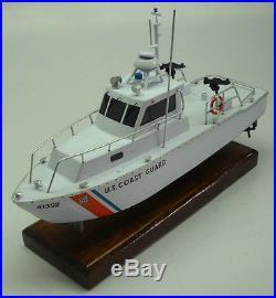 UTB-41 US Coast Guard Boat UTB41 Mahogany Desktop Kiln Dry Wood Model Large