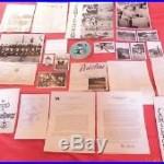 VIETNAM USS INDEPENDENCE CVA 62 archive 5 PATCH menus PHOTOS Navy Citation Id