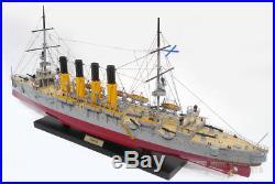 Varyag Cruiser Handcrafted Russian War Ship Display Model NEW