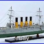 Varyag Protected Cruiser 32 Handmade Wooden Warship Model NEW