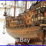 Vasa 1628 Wasa Swedish Wooden Tall Ship Model 38 Sailboat Built Boat New