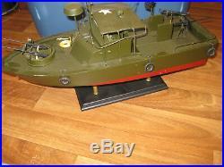 Vietnam War PBR riverboat US Navy display wood custom model boat 1/18 or 1/20
