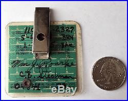 Vintage Employee Photo ID Badge ELECTRIC BOAT (GENERAL DYNAMICS) Crofton CT