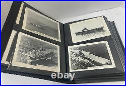 Vintage Photo Collection of US Navy USS Ships & Planes Randolph Essex Wasp Album