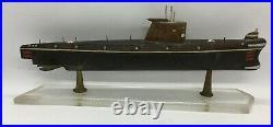 Vintage Russian DEMBEL SOUVENIR handmade K-series WWII SUBMARINE