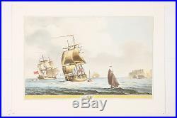 Vintage Sailboat Wall Art Prints by Serres Set of 3 Ultra High Quality Prints