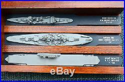Vintage U. S. Naval WW2 Ship spotting models, full tray