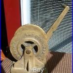 Vintage WW2 Sasgen Derrick Bronze Deck Winch Signed USS Gear (ARS-34)