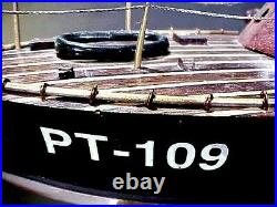 Vintage Wwii Us Navy Elco Type Modle Patrole Torpedo Boat Pt-109 Custom Made