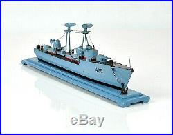 Vintage model ship destroyer Watchman handmade USSR
