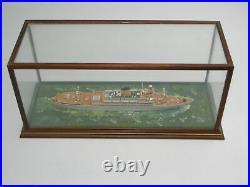 Vm Aureol Ship Model by Ron Hughes Rare Hand Made Model