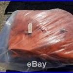 WW2 German Foul Weather Suit / U-Boat Deck Jacket & Pants Case Orange Large