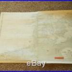 WW2 German Kriegsmarine 1600000 Seekarte NAVIGATION MAP NORTH & EAST SEA #1