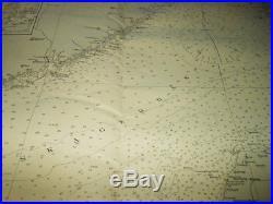 WW2 German Kriegsmarine 1600000 Seekarte NAVIGATION MAP NORTH & EAST SEA #2