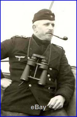 WW2 German Kriegsmarine 7x50 Leitz U-BOAT BINOCULARS #2 VERY NICE