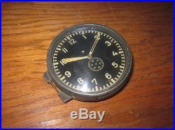 WW2 German Kriegsmarine Junghans U-Boat Radio Room Clock NICE