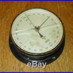 WW2 German Kriegsmarine Navy Barometer U-Boats Ships Airfields VERY NICE