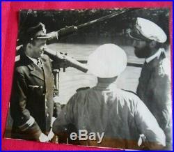 WW2 U-BOAT 1944 KRIEGSMARINE 3R GERMAN NAVY OFFICERS SUBMARINE COMMANDER U-BOOTe