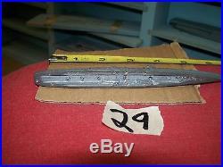 WW2 metal recognition ship, Cleaveland Class US CL, Comet