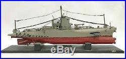 WWI Antique US Navy V-1 Submarine Launching Presentation Model Metal Wood Ship