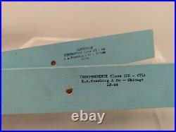 WWII (12-44) US Navy Miniature Ship Set US Models Mark I, Supplement 1