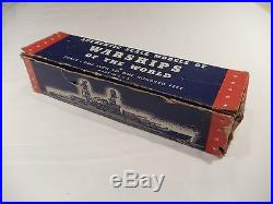WWII German Aircraft Carrier Graf Zeppelin Lead Recognition Model with Orig Box