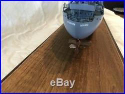 WWII Liberty Ship 28 Wooden Model by Master Shipwright R. Hambidge