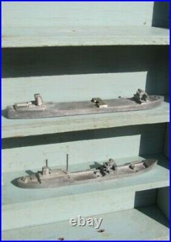 WWII Merchant Ship Recognition Training Model Boxed Set Japanese Merchant Ships