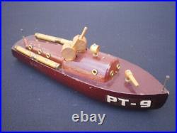 WWII Scott Paine / ELCO PT-9 US Navy Torpedo Boat. 50 Browning Twin Machine Guns