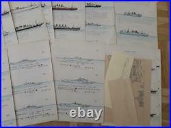 War Ships Kriegsmarinechiff Marine Ships Studie Study 45 Pg