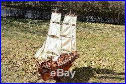Wooden USS Constitution 44 Tall Ship Model (Brand New)