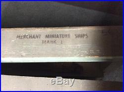 World War 2 Merchant Ship Recognition Training Model Boxed Set Mark I