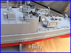 Ww 2 landing craft infantry model wood ship, hand built, 40