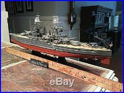 Ww 2 model ship, USS ARIZONA, 1/350 scale, pls read description below