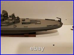Ww II Uss Missouri Bb 63 1/800 Scale Wood Model
