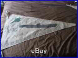 Wwii German U-boat U-96 Laughing Green Sworfish Wall Barracks Flag