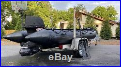 Zodiac F470 inflatable Navy Seal Boat 2008 Incl 2 outboards & More